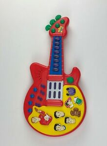The Wiggles Play Along Musical Guitar music sounds songs