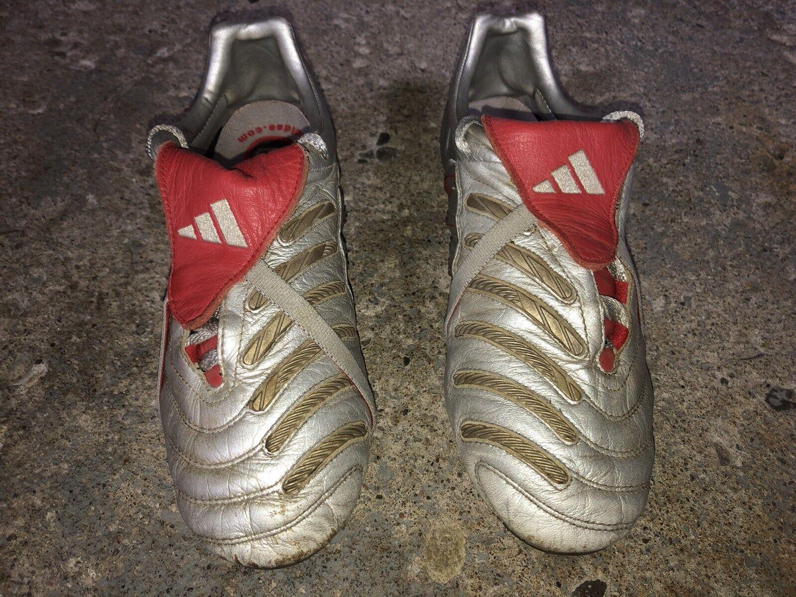 Adidas Prossoator Pulse TRX FG David Beckham UEFA Euro 2004 Diuominiione 5.5Y