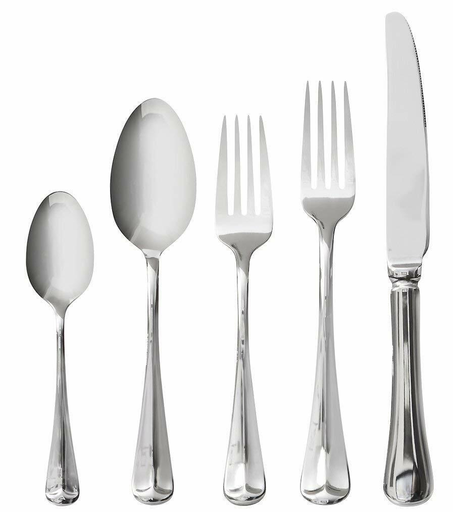 Italian Collection  Médiéval  20-Pc Premium ARGENTERIE COUVERTS Serving Set
