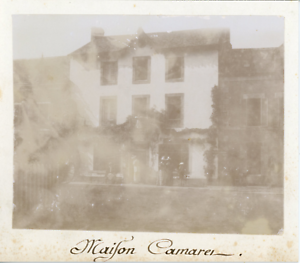 France-Maison-Camara-ca-1895-Vintage-citrate-print-mounted-with-legend-Ti
