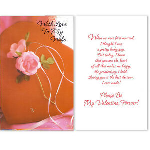 image is loading valentine 039 s day greeting cards 034 with - Valentine039s Day Greeting Cards