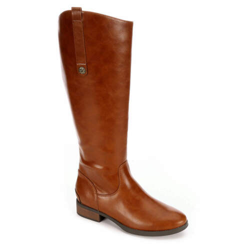 Xappeal Womens Emery Knee High Riding Boot Shoes