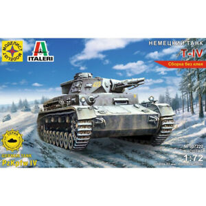 PzKpfw-IV-Ausf-F-1-German-WWII-Medium-Tank-Model-Kits-scale-1-72