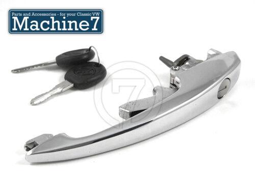 Clásico VW Bug /& Bloqueo Puerta Manija del tipo 3 Pull Lock /& Llaves 1968-79 Escarabajo T1