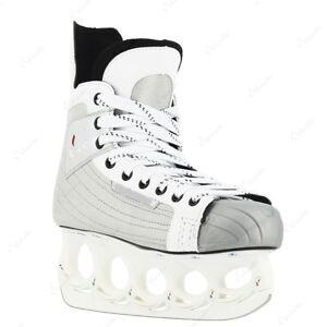 Schlittschuh-tx-10-Eishockey-mit-t-blade-Funblade-Holder-Gr-43-Paar-2-Wahl