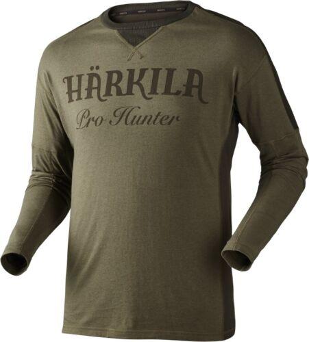 Camicia-HARKILA T Manica Lunga Logo perfetto per le riprese//CACCIA//STALKER//Da Passeggio