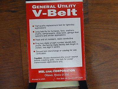 D/&D PowerDrive 3L320 V-Belt  3//8 x 32in  V*belt