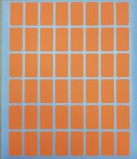 960 All Purpose Easy Peel Off Self Adhesive Orange Price Label Tags 12 X 78