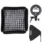 Godox Softbox 80*80cm 32in with Bowens Mount Bracket for Strobe Flash Light