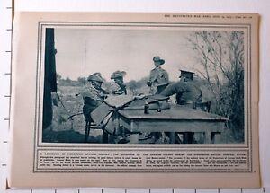1915 Première Guerre Mondiale G.mondiale 1 Imprimé ~ Gouverneur De German