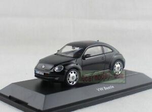 1/43 Scale Schuco VOLKSWAGEN VW Beetle Black Diecast