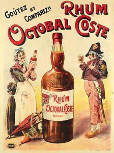 Original-Vintage-Poster-Rhum-Octobal-Coste-Martinique-Napoleon-1890