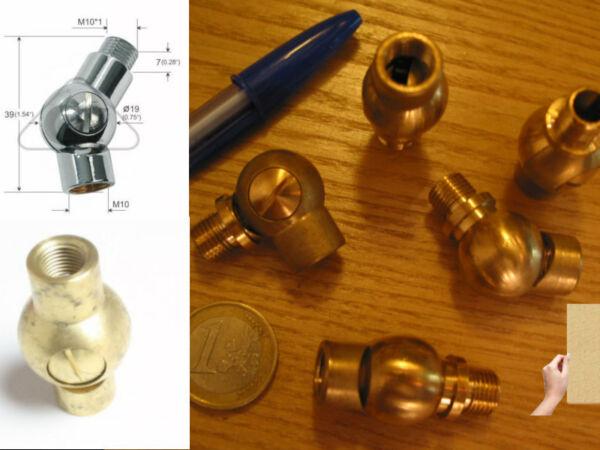 1 Rotulelaitonfiletage 10x1 Femelle Male Réglageparvis Lampe Lustre Luminair