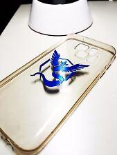 Pokemon Go Team Metallic Reflective Car iPhone Case Sticker Decal 0.01 Blue A4