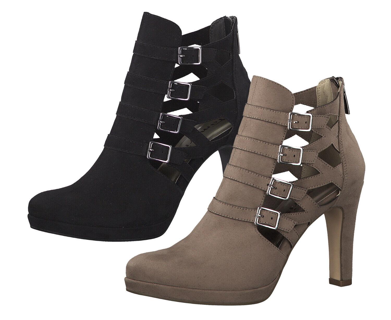 Tamaris 1-25327-33 Damen Schuhe Plateau High-Heel Stiefeletten