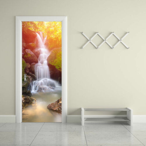 Door Wall Fridge Sticker 3D Decals Self Adhesive Waterproof Scenery Mural Decor