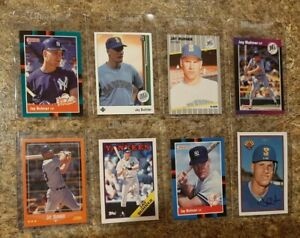 8-Jay-Buhner-1988-1989-Score-Donruss-Upper-Bowman-Topps-Rookie-card-lot-RC