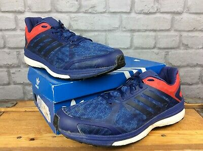 ADIDAS Homme UK 13.5 EU 49 13 SUPERNOVA SEQUENCE BOOST 9 Bleu Running Baskets J | eBay