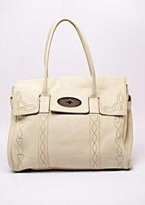 9b4a16c2f3 Image is loading Mulberry-Bayswater-Tote-in-Off-White-Pebble-Leather-