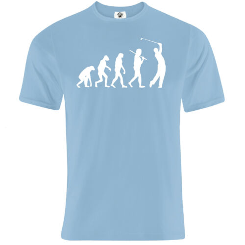 """Colours /""""Evolution to Gofl/"""" open masters PGA Ryder cup championship T-Shirt"""