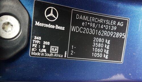 MERCEDES BENZ W203 W209 C CLK CLASS C270 CDI YAW RATE SENSOR A2095420018Q04