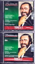 TOSCA (G. Puccini) - Luciano PAVAROTTI Opera completa 2 CD Sigillato RARO