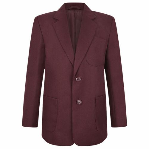 ZECO Boys School Blazer 100/% WOVEN POLYESTER Teflon Coated Pockets Coat 24-52