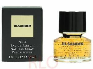 Details about Jil Sander No.4 30ml EDP Women Spray