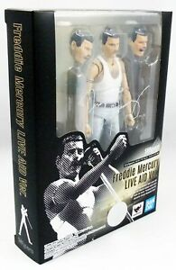 Figuarts by BANDAI FREDDY MERCURY LIVE AID 1985 ver Action Figure S.H