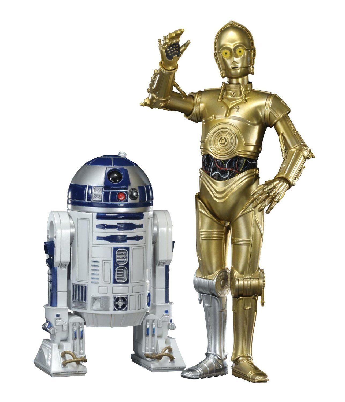 Kotobukiya Star Wars ARTFX+ R2-D2 & C-3PO Statue PVC Figure NEW