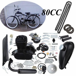 Radsport 2-Takt 50cc Moteur Motorisierte Gas Fahrrad Benzin Hilfsmotor Engine Kit Bicyle