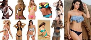 OFFERTA-STOCK-LOTTO-Costumi-Interi-Monokini-e-Bikini-Assortiti-Donna-Moda-Mare
