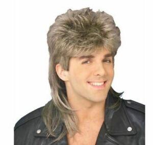 DURMAZ Mullet Novelty Hair Wig - Sandy Blonde