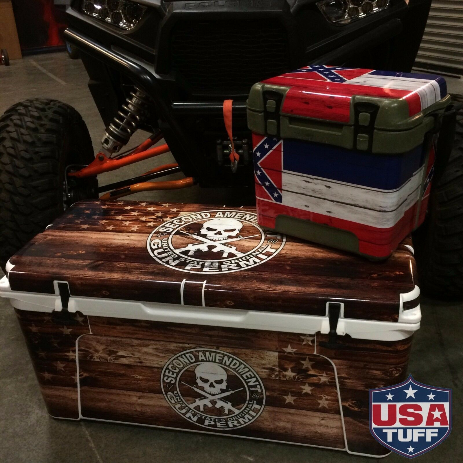 USATuff Custom Cooler Decal Wrap Wrap Wrap fits YETI Tundra 75qt L+I Pirates Lighthouse 72b3d7