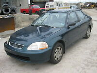 **OUT FOR PICKING!!** WS6473 1997 HONDA CIVIC Woodstock Ontario Preview