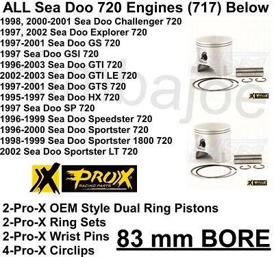 83.00mm Bore Fits 1998 Sea-Doo GSI Piston Ring Set