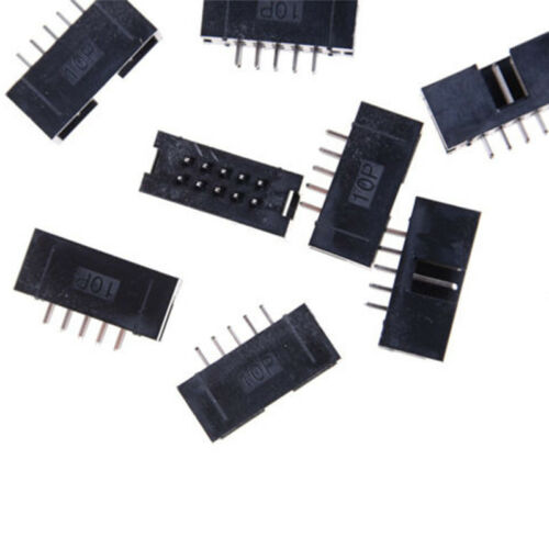 10 P 2.54mm 2x5 Pin 10 Pin Gerade Männlichen Verschlossenen Header IDC WRDE