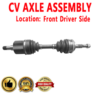 FRONT LEFT Driver Side CV Axle Drive Shaft ASSEMBLY For PONTIAC CHEVROLET