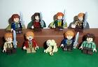 Lego Surtido El señor de los anillos El Hobbit Minifiguras Hobbits con Gollum