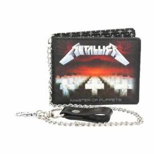 Metallica-Master-Of-Puppets-Cartera-con-Cadena-en-Caja-Nemesis-Now-Musica