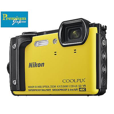 Nikon CoolPix W300 Compact Camera Waterproof 16MP 4K Japan Domestic Version New