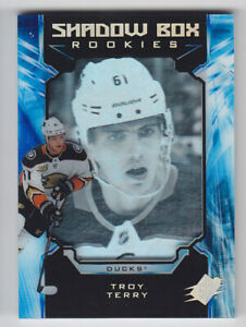 2018-19-UD-SPX-TROY-TERRY-RC-038-298-SHADOW-BOX-ROOKIES-33-Authentic-Ducks