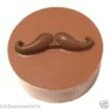 CHOCOLATE COVERED OREO SANDWICH COOKIE MOLD MUSTACHE 161261