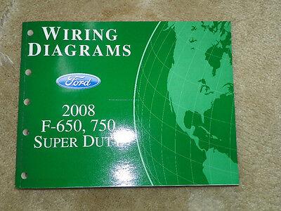 2008 Ford F-650, 750 Super Duty Wiring Diagrams | eBay