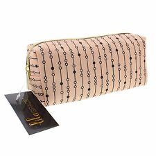Pink Glitter Ladies Cosmetic Beauty Vanity Case Make-Up Bag Gift