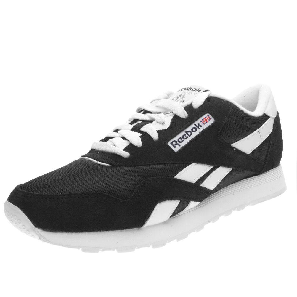 Zapatos Reebok Clásico Nylon 6604 Negro