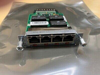Genuine Cisco HWIC-4ESW • 4-Port Interface Card ■Same Day Shipping■
