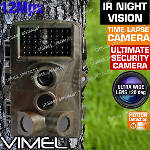 Trail Camera Wireless Farm Security Cam Waterproof Night