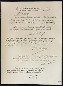 1926-Litografia-citazioni-General-Maistre-Michelet-Amade-Anthoine