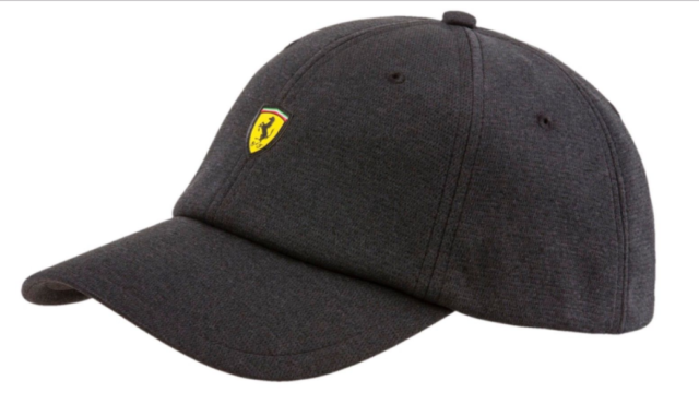 Puma X Ferrari Hat Black Adjustable Strap Brand New NWT